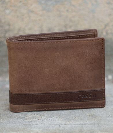 Fossil Quinn Leather Wallet