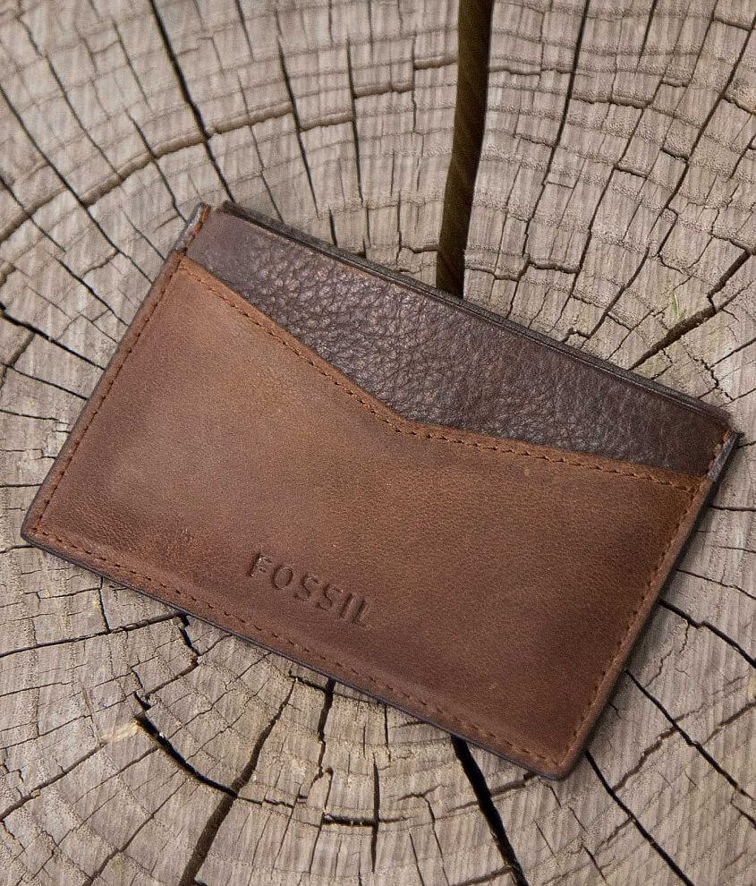 Fossil Quinn Card Case front view