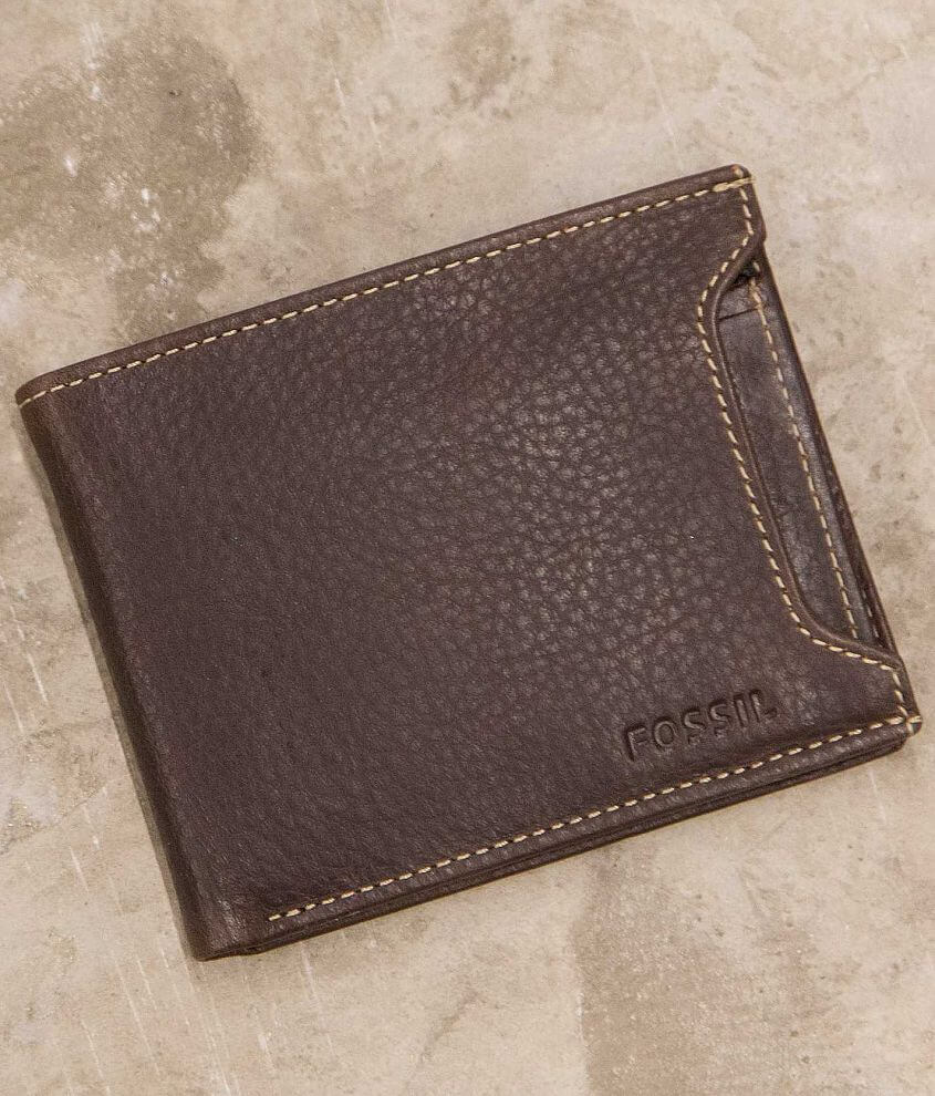 Fossil Lincoln Sliding Wallet front view