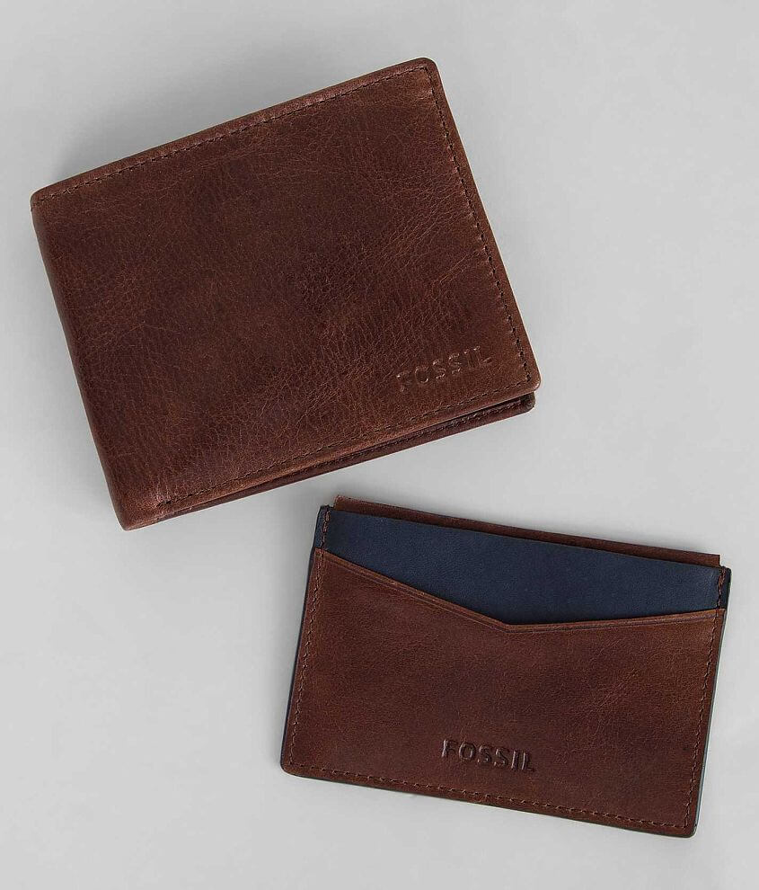 Fossil Wallet Gift Set front view