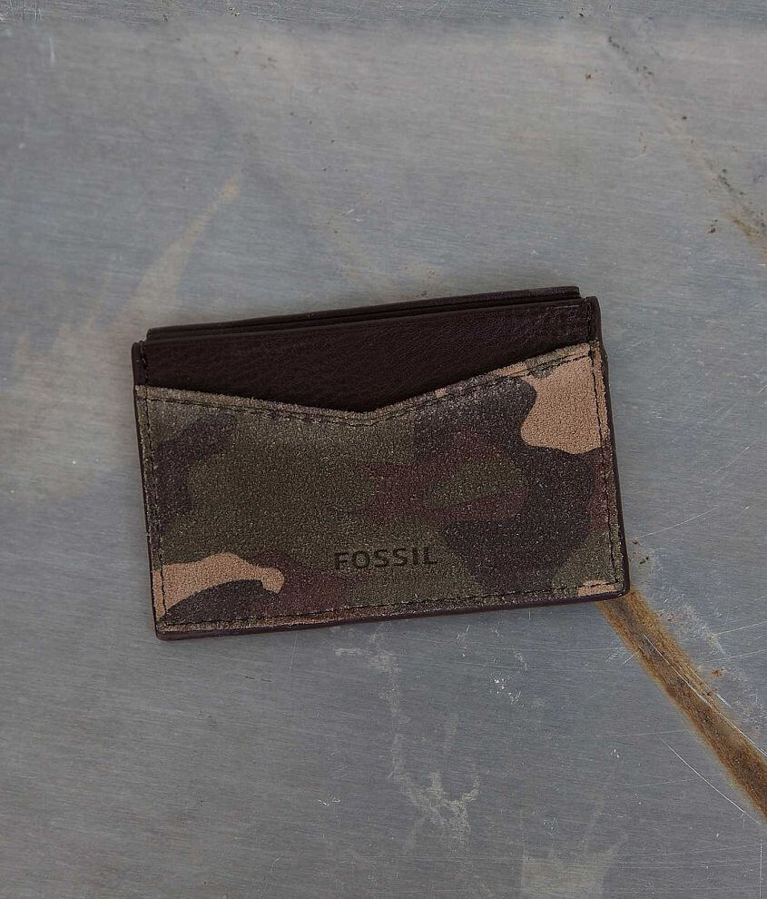 Fossil Gordon Card Case front view