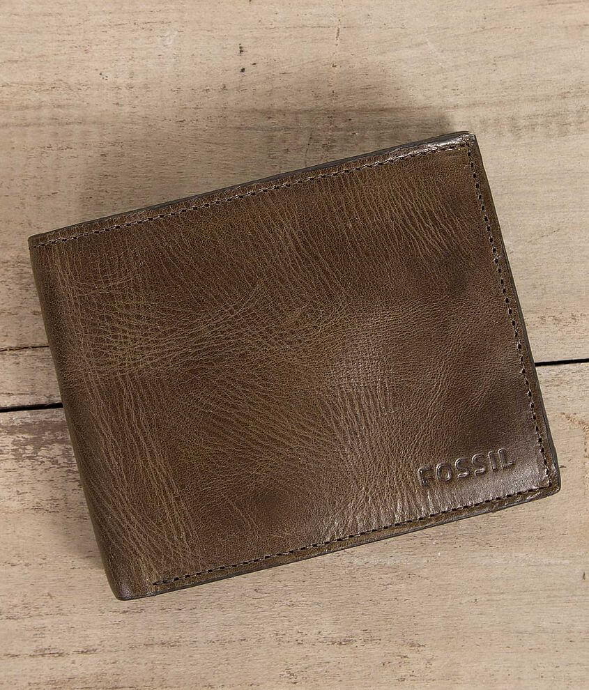 Fossil Derrick Wallet front view
