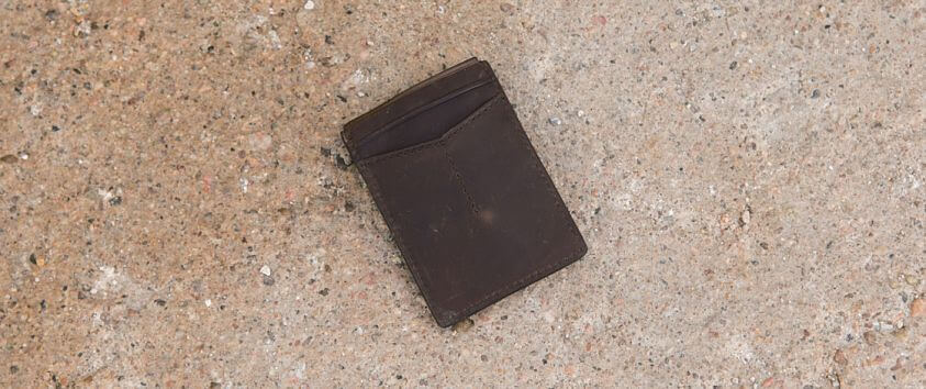 Fossil Max Wallet front view