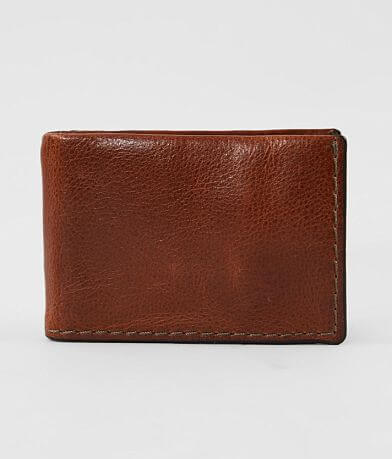 Fossil Beck Leather Money Clip Wallet