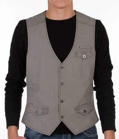 Buckle Black Harper Vest
