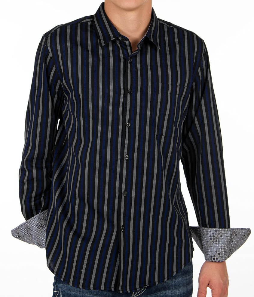 Pop Icon Striped Shirt front view