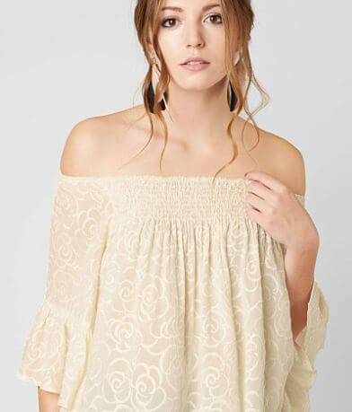 9bfdc32052 Gimmicks Off The Shoulder Top