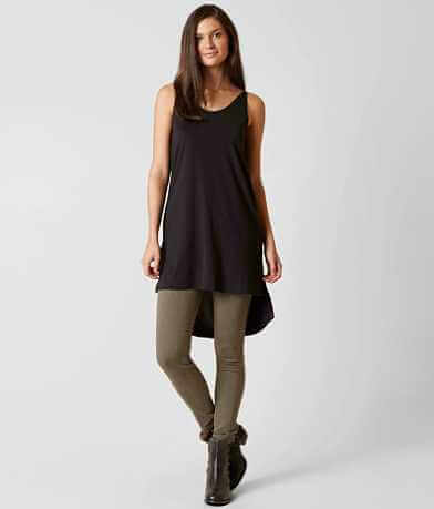 grehy High Low Hem Tank Top