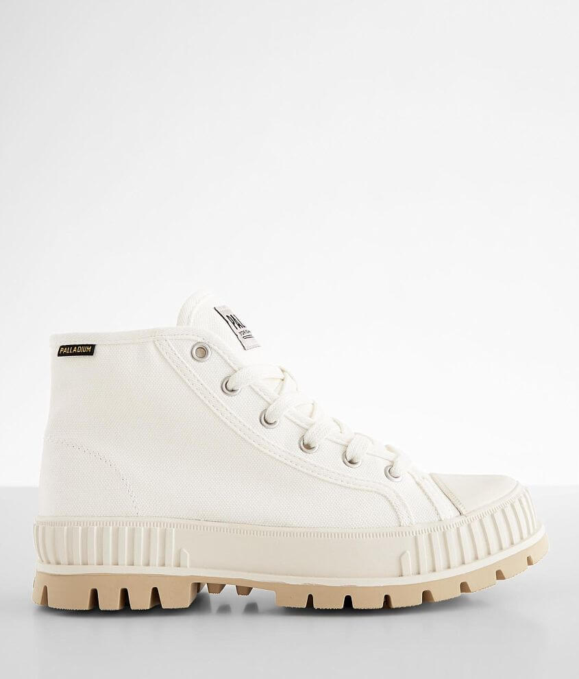 Canvas lace-up boot 5\\\