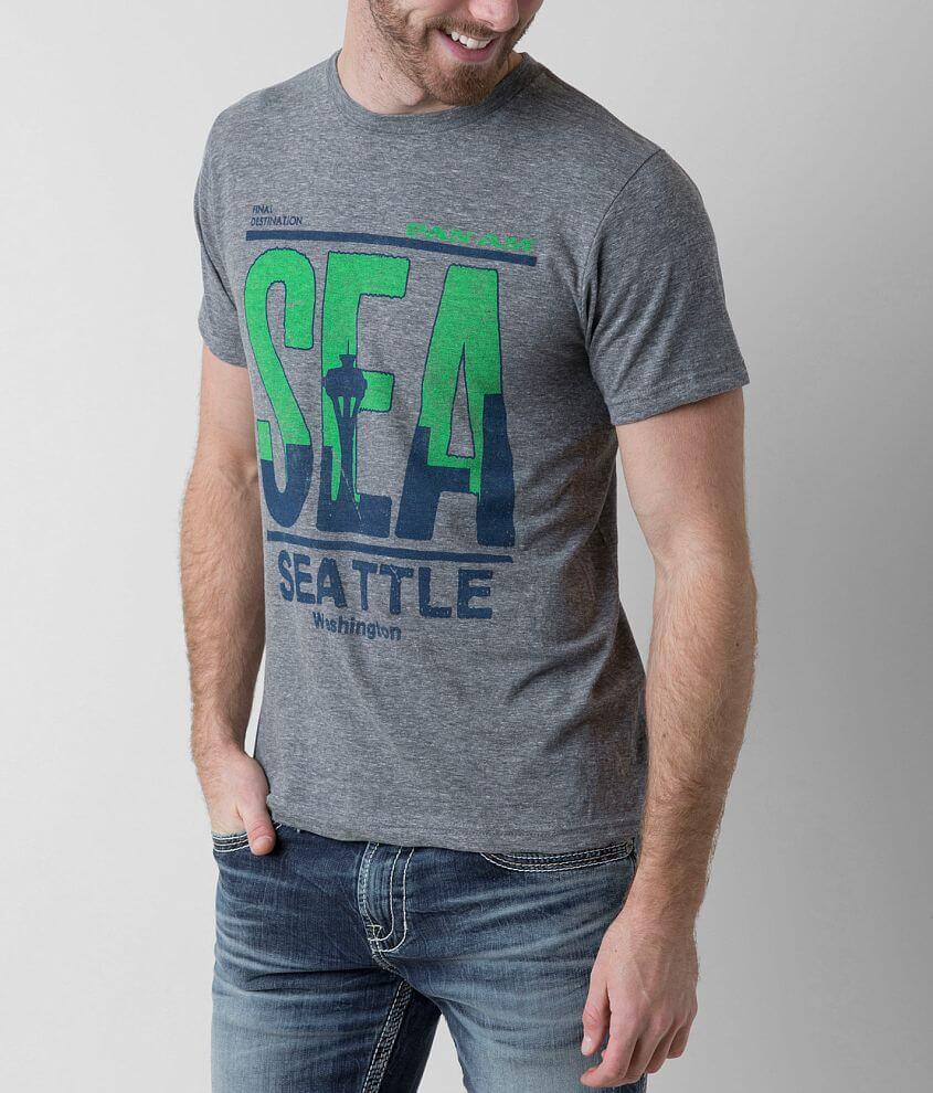 Palmercash Seattle Sea T-Shirt front view
