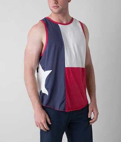 Palmercash Texas Flag Tank Top