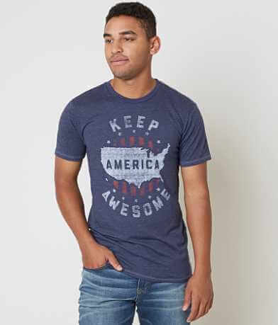 Palmercash Keep America Awesome T-Shirt