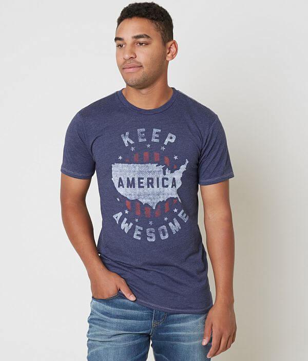 Palmercash Awesome Keep T America Shirt rHarq6F