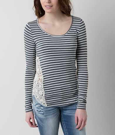 paper + tee Striped Top