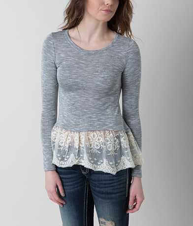 paper + tee Lace Top