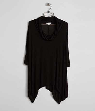 paper + tee Solid Top - Plus Size Only