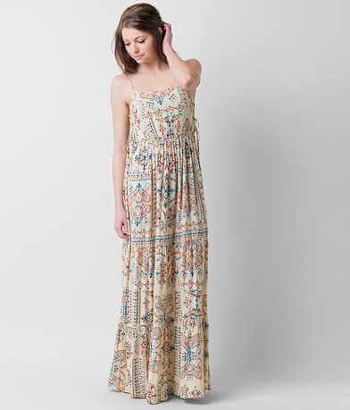 Patrons of Peace Printed Maxi Dress