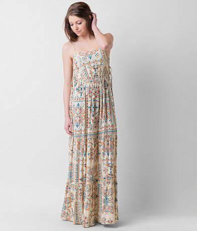 Patrons of Peace Printed Maxi Dress
