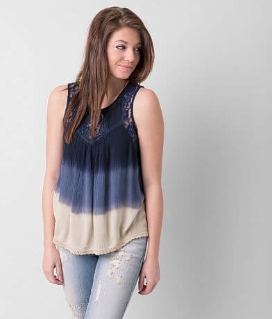 Patrons of Peace Lace Tank Top
