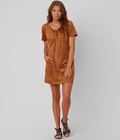 Patrons of Peace Lace-Up Dress