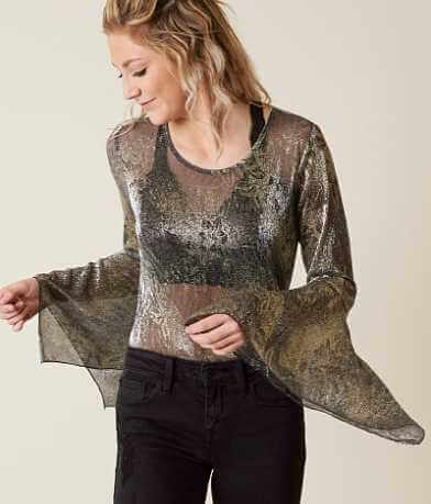 willow & root Shimmer Top