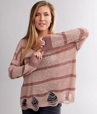 Daytrip Striped Lightweight Sweater