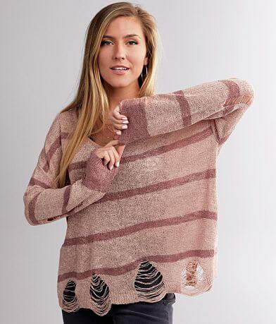 Daytrip Striped Lightweight Sweater