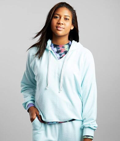 BKE Split Neck Fleece Hoodie