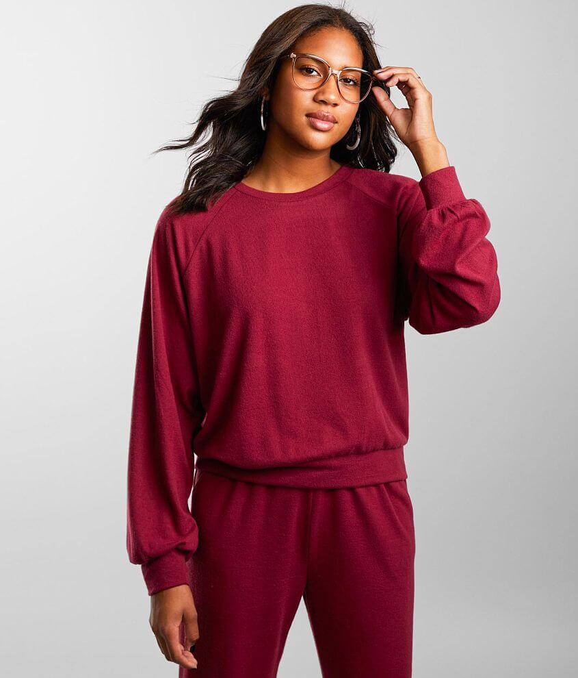 BKE Brushed Knit Pullover front view