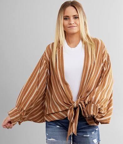 Daytrip Front Tie Kimono