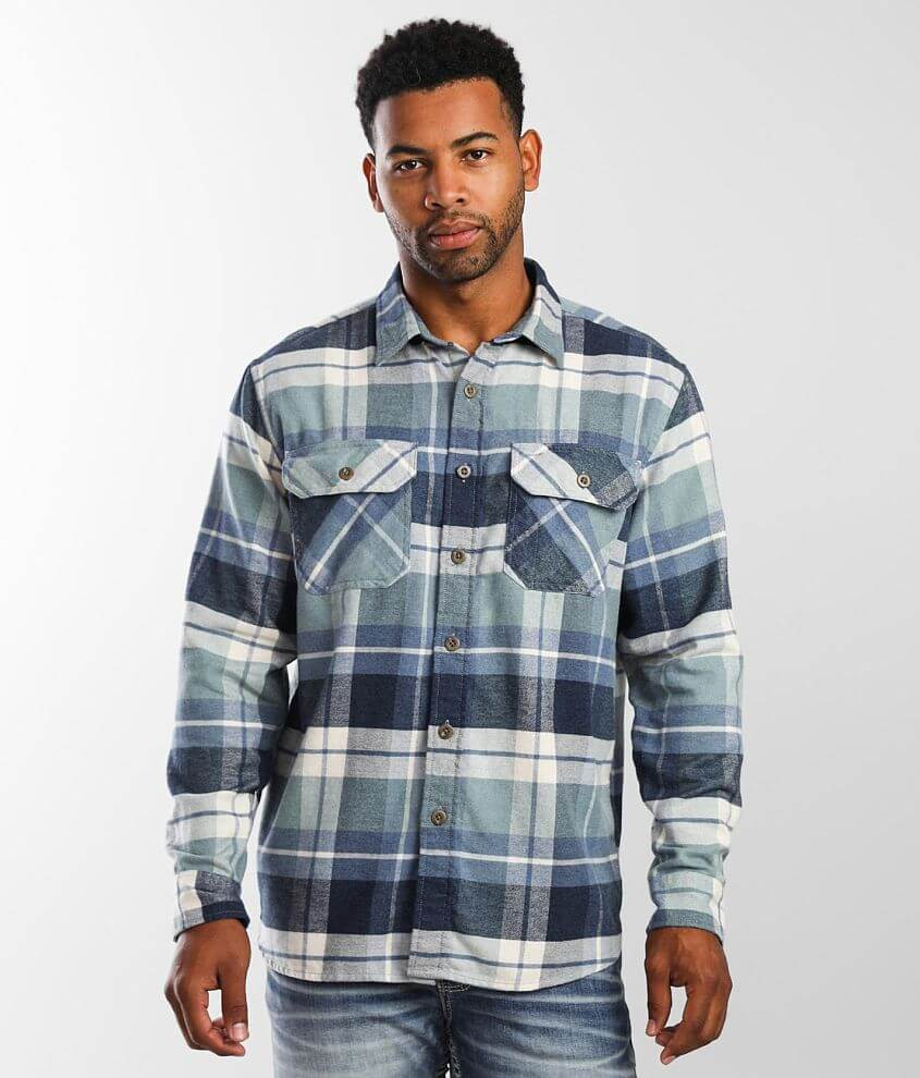 Pendleton Burnside Flannel Shirt front view