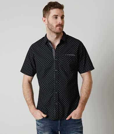 Smash Polka Dot Printed Shirt