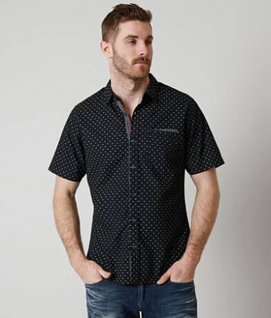 Smash Polka Dot Printed Shirt
