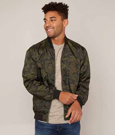Smash Camo Bomber Jacket