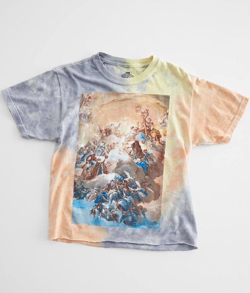Art Masterpiece Tie Dye T-Shirt front view
