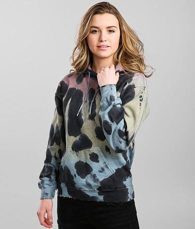 Gilded Intent Washed Tie Dye Hooded Sweatshirt