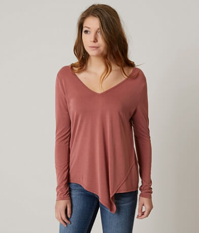 red by BKE T-Back Top