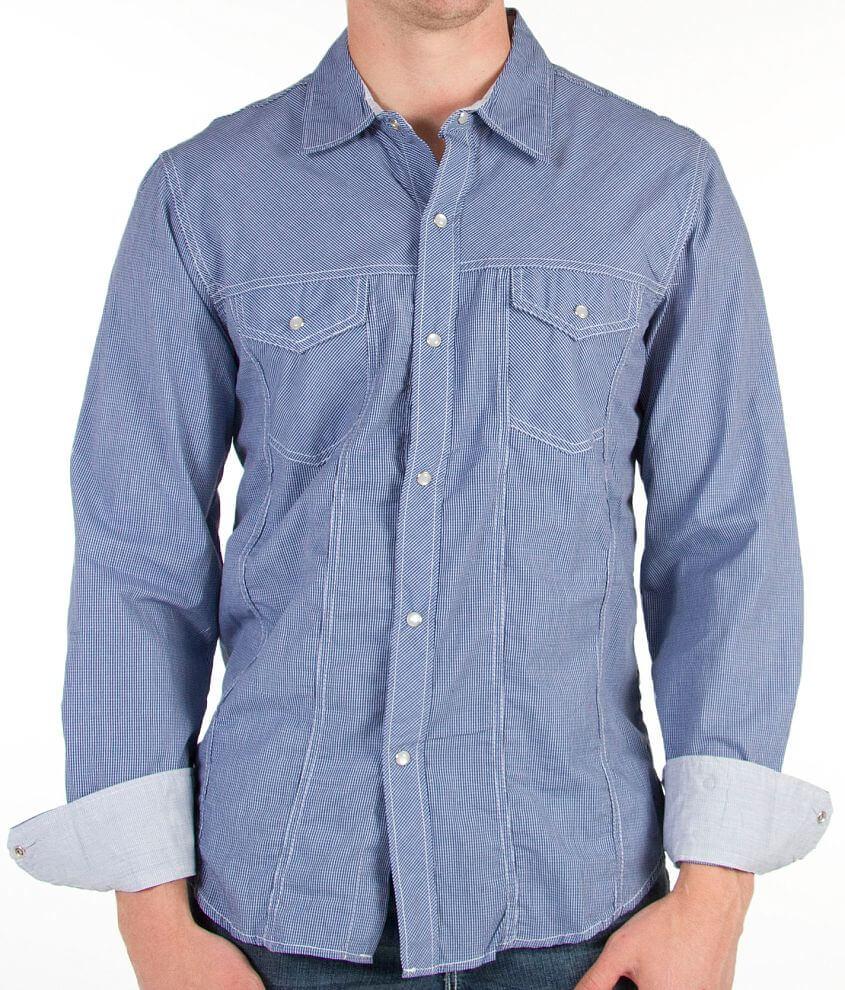 Pila Design Checkered Shirt front view
