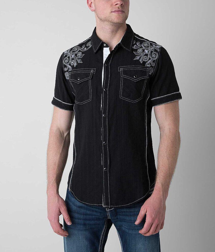 Pila Designs Textured Shirt front view