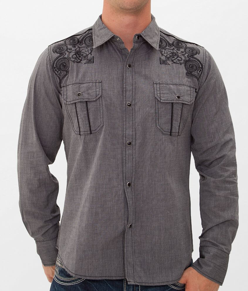 Pila Design Embroidered Shirt front view