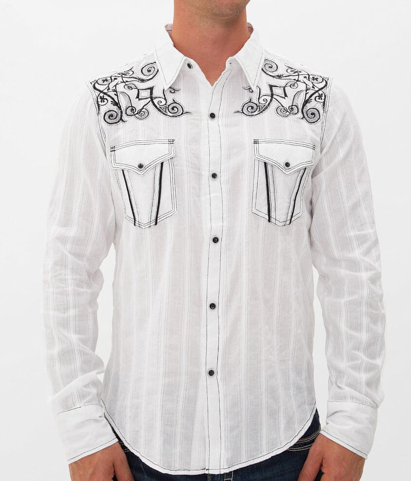 Pila Design Textured Shirt front view