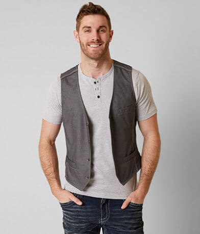 Buckle Black Standard Fit Vest