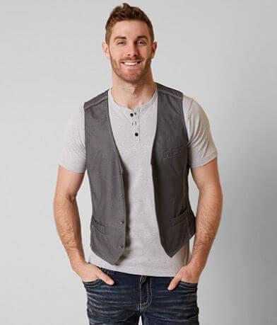 Buckle Black Standard Fit Vest