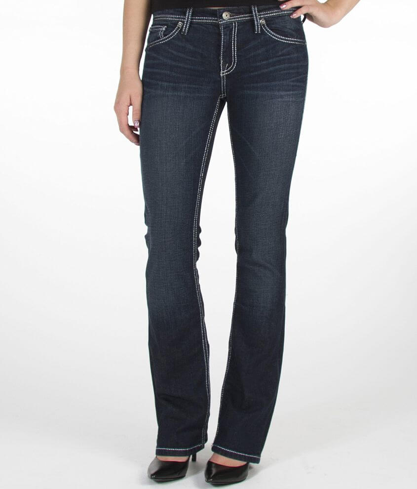 BKE Boutique Seventy Four Boot Stretch Jean front view