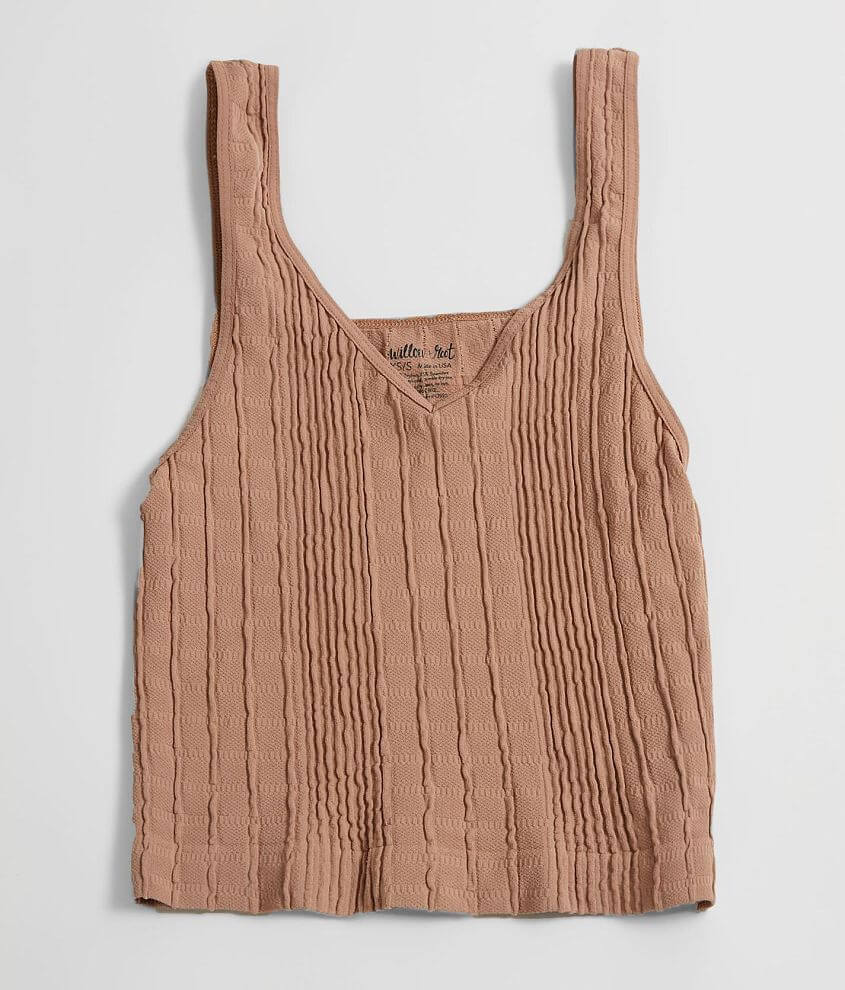 Willow & Root Textured Bralette front view