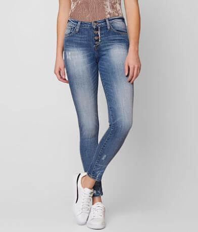 Bridge by GLY Mid-Rise Ankle Skinny Stretch Jean