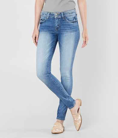 Bridge by GLY Mid-Rise Skinny Stretch Jean