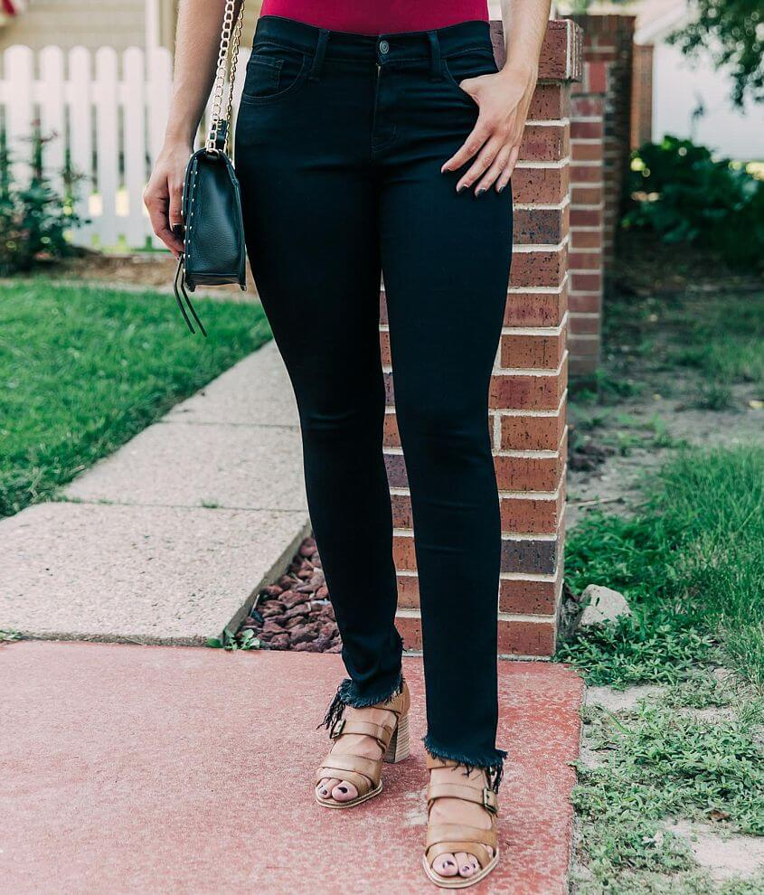 Bridge by GLY Mid-Rise Ankle Skinny Stretch Jean front view