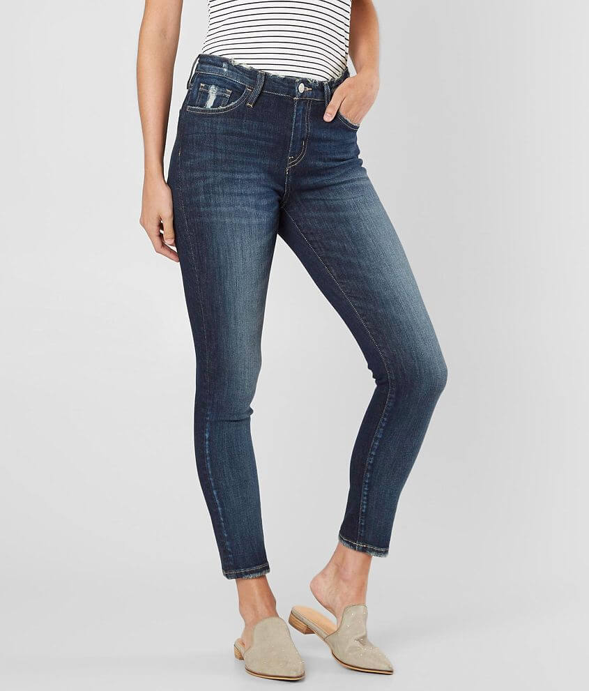 Bridge by GLY High Rise Ankle Skinny Stretch Jean front view
