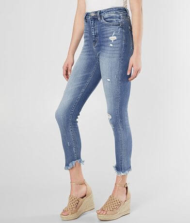 Bridge by GLY Ultra High Rise Ankle Skinny Jean